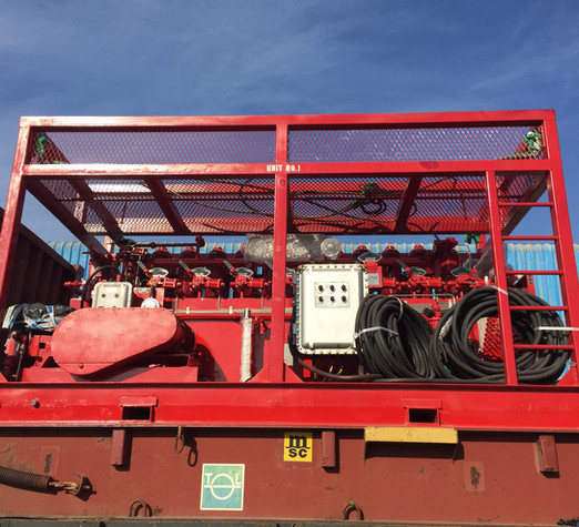 8 Station Bop Control Unit - 240 Gallons - 3000 psi