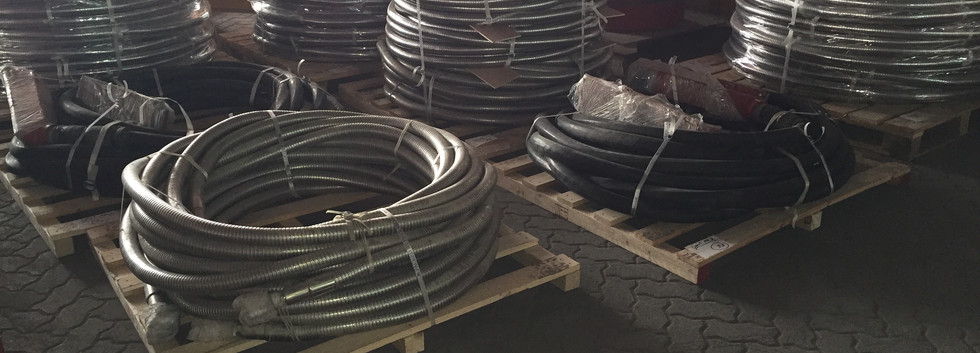 1 inch x 100ft Armoured Hoses - Rated to