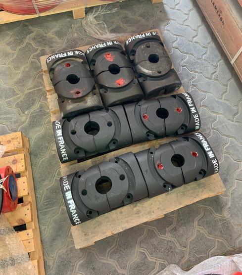 "7-1/16"" 3/15M Cameron Type U Pipe Ram Blocks"