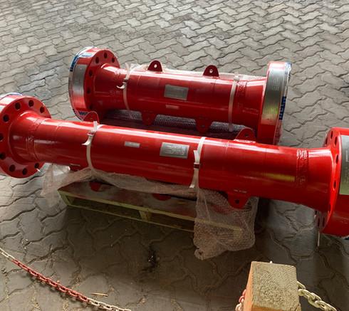 7 1 16 10M Flanged Riser Spools