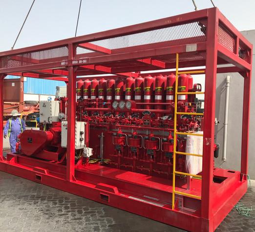 8 Station Bop Control unit - 336 Gallons - 3000 psi