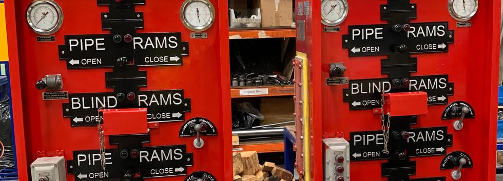 Bop Control Unit Remote Panels
