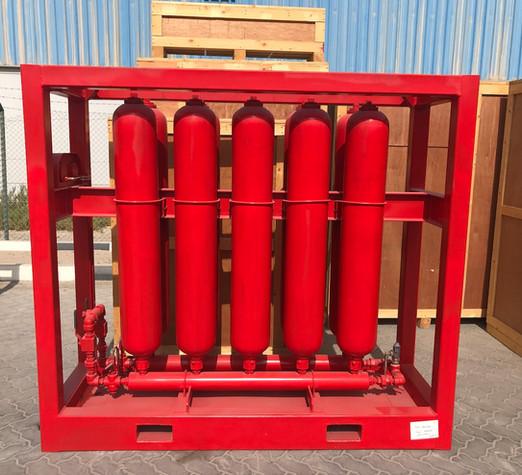 10 x 11 Gallon Accumulator Rack