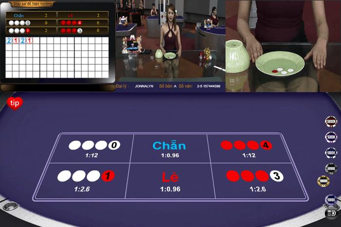 Kinh nghiệm chơi xóc đĩa online