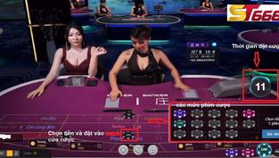 Cách chơi Baccarat online cơ bản cho người mới tập chơi tại ST666