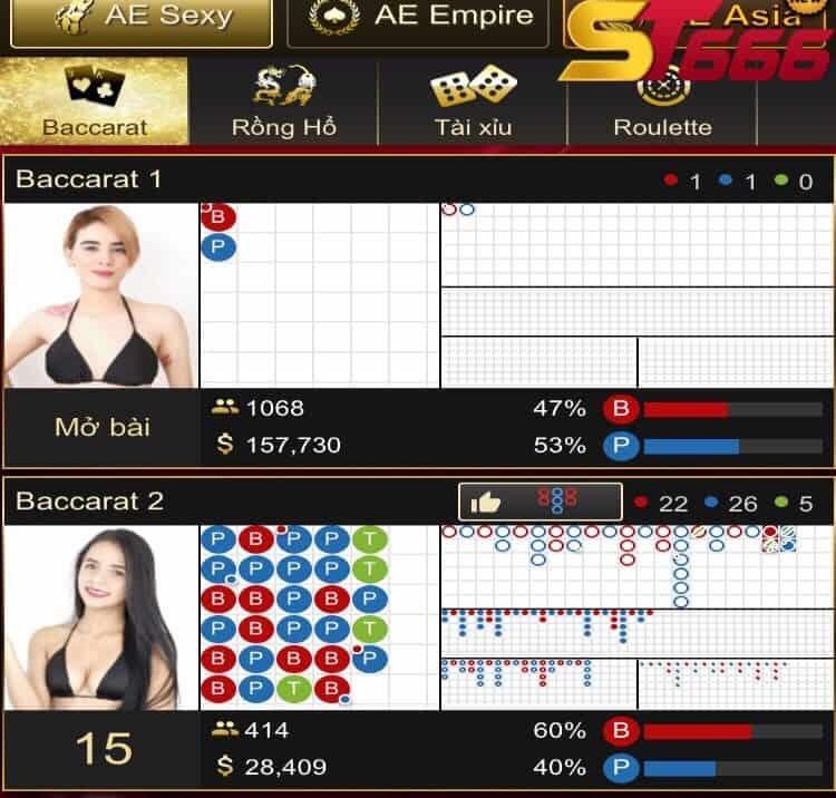 chơi baccarat online