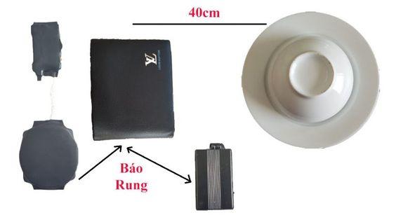 Máy báo rung - một dụng cụ quen thuộc với các tay chơi cờ bạc bịp, xóc đĩa bịp