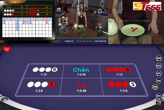 chơi xóc đĩa online