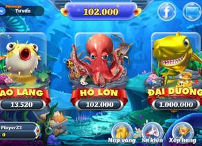 Bật mí cách chơi game bắn cá ăn xu đổi thưởng online 3d