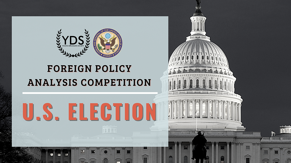 Foreign Policy Analysis - The 2020 U.S. Election