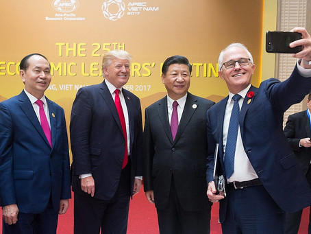 Increasing Australia's Middle Power: China