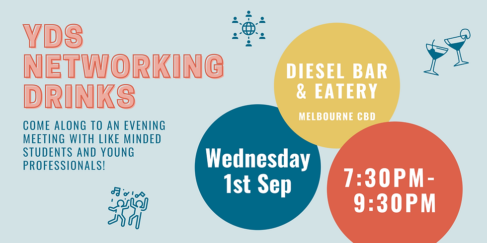 YDS Networking Drinks - Back on!