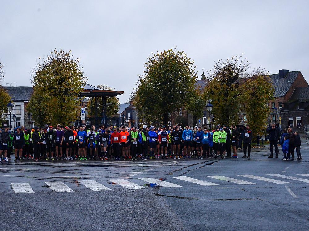 Jogging de l'Armistice 2019 à Momignies