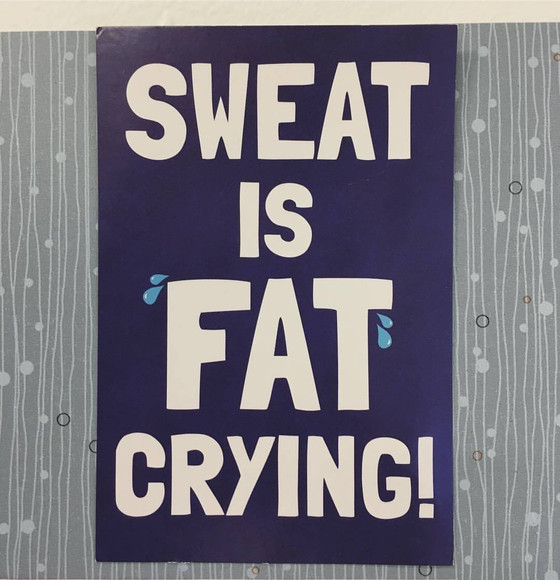 Does sweating mean I am burning fat?