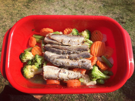 Healthy lunch that takes less than 5 minutes