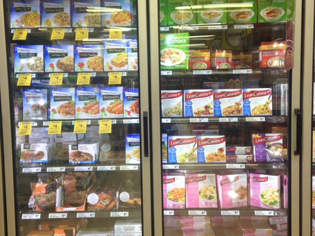 199 products later…Here are the Top 10 Frozen Meals