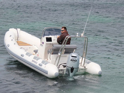 BRIG Falcon 570HL on water