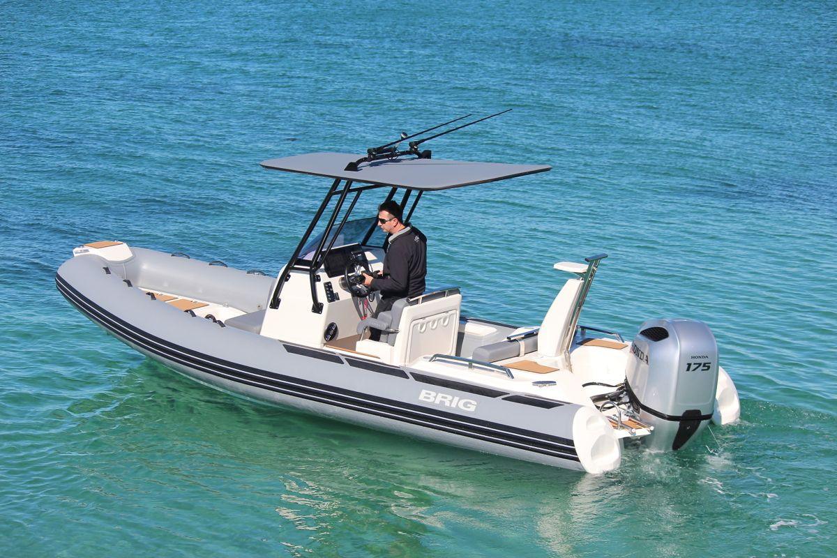 BRIG Eagle 670 RIB Neptune Grey 3