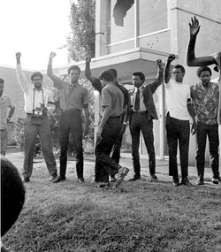 Black Students Protest after Jackson State Shooting