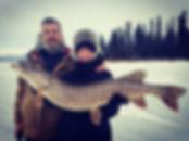 Alaska Fishing Guide Northern Pike Backc