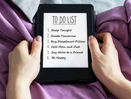 Add Sleep to the Top of Your To-Do List