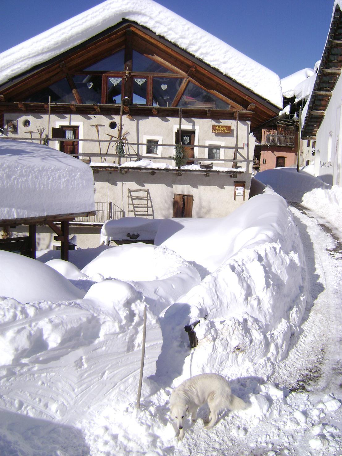 Il rifugio in inverno