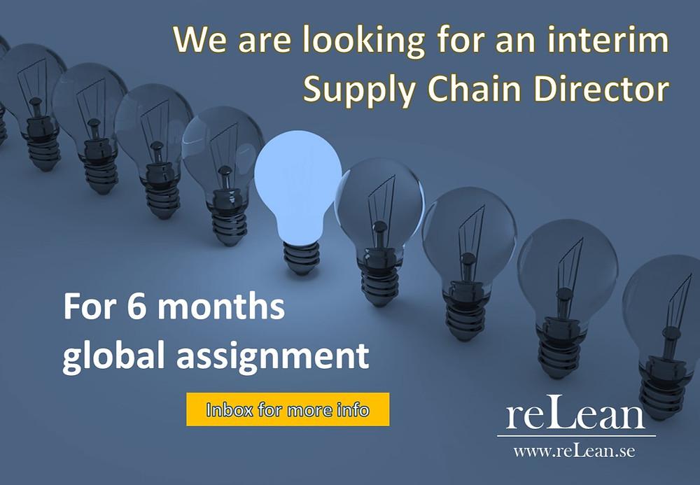 interim supply chain director