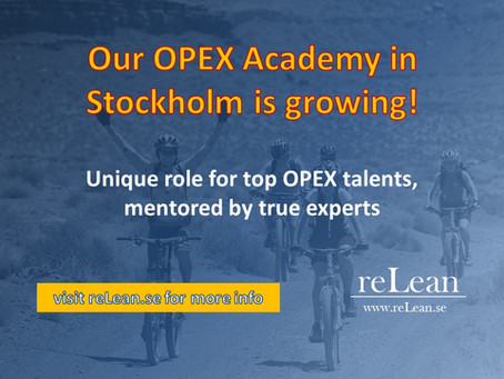 reLean Academy is growing - come join!