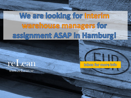Extraordinary warehouse ops opportunity in Hamburg!
