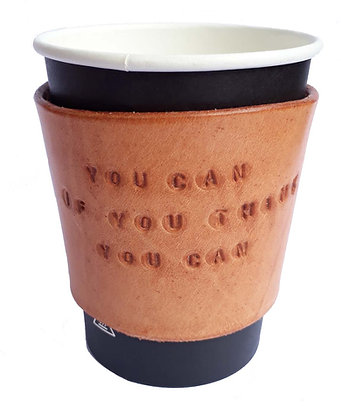 Personalised Message Small Coffee Sleeve
