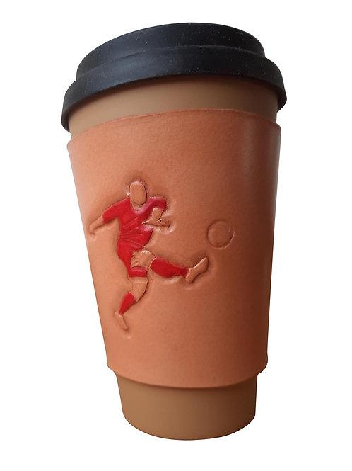 Football Striker - Coffee Sleeve