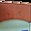 Thumbnail: Slim Orange Cork Leather Wallet