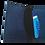 Thumbnail: Slim Dark Blue Cork Leather Card Wallet