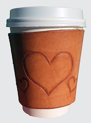 Tripple Heart Coffee Sleeve