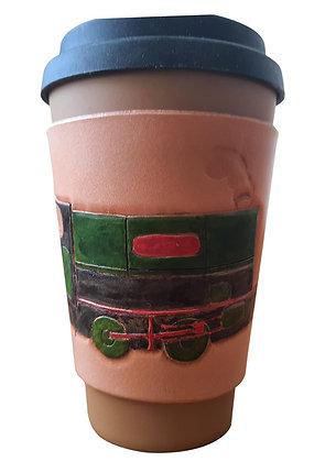 Steam Train - Coffee Sleeve