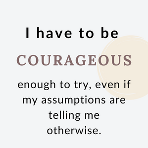 Having Courage