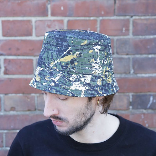 オリジナルJOHN DRIP PAINT BUCKET HAT
