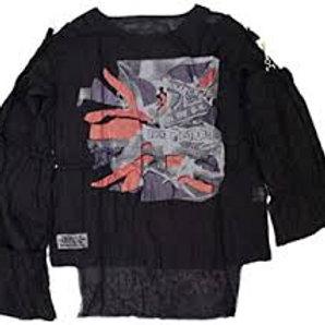 ムスリントップ ANARCHY FLAG(セディショナリーズ) ブラック