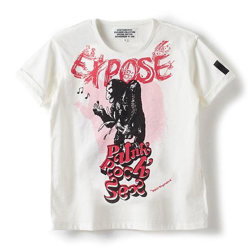 Tシャツ EXPOSE(セディショナリーズ) オフホワイト