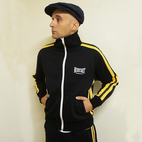 ネバートラストROCKERS TRACK JACKET/PANTS BLACK