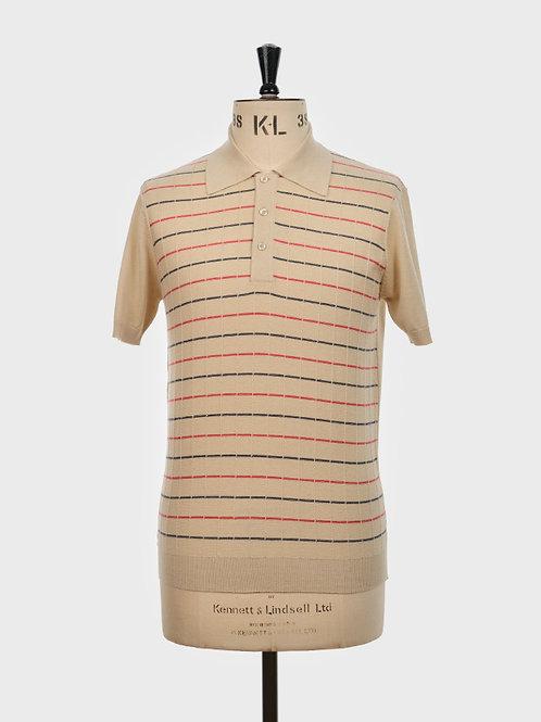 ARTGALLERY カーターニット ポロシャツ