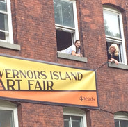 Governers Island Art Fair New York