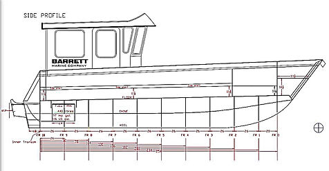 barrett marine co 2795 Aluminum Landing Craft