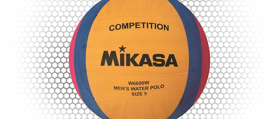 MIKASA Mens Competition Size 5 Water Polo Ball