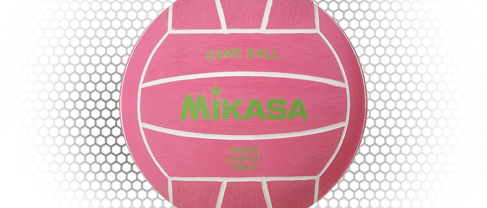 MIKASA Womens PINK Game Size 4 Water Polo Ball
