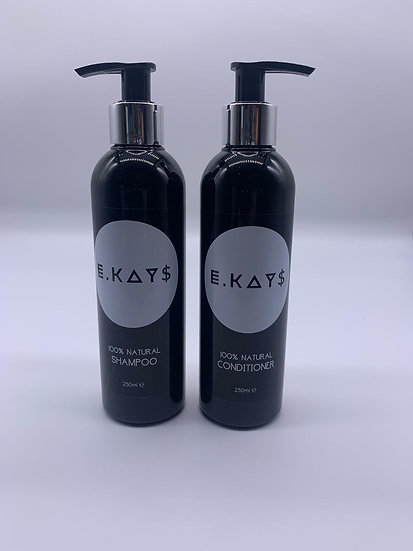 100% Natural Shampoo & Conditioner set