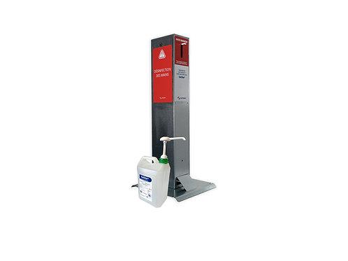Lot distributeur GelSite® Éco + 1 bidon de gel hydroalcoolique de 5L