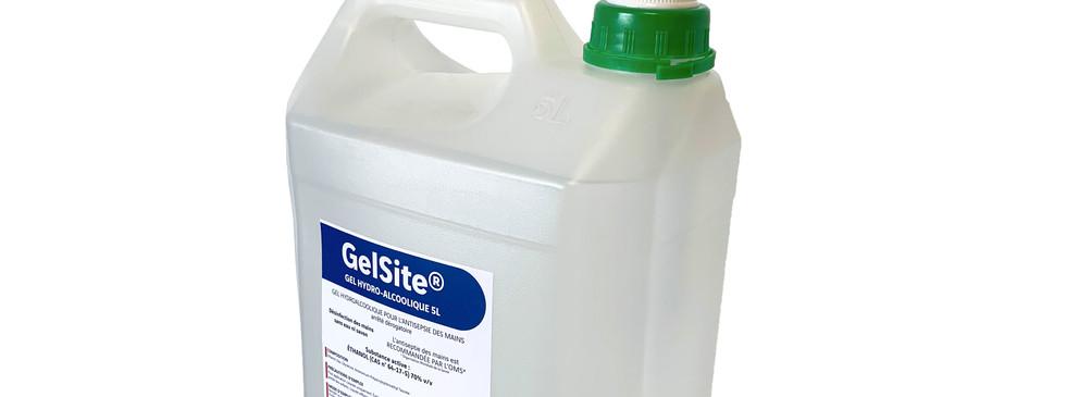 GelSite® gel hydroalcoolique bidon de 5L