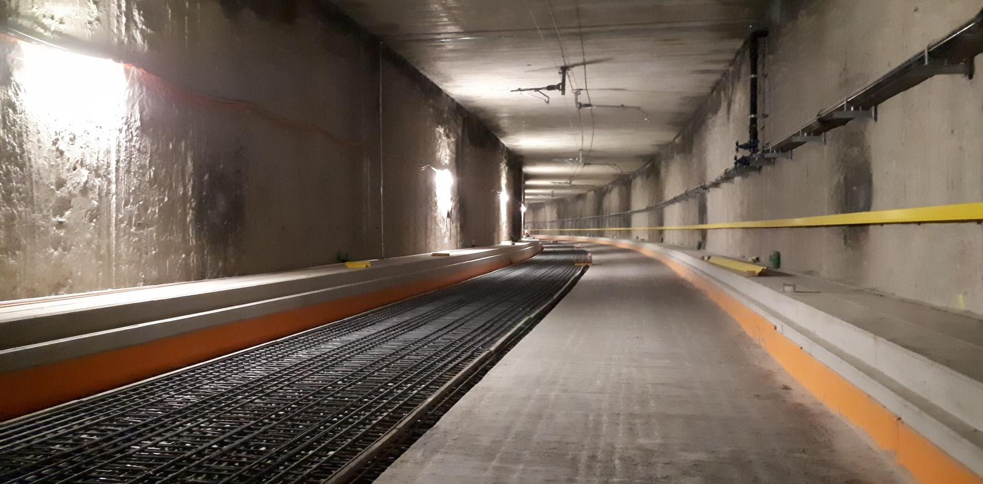 Tunnel CEVA Switzerland
