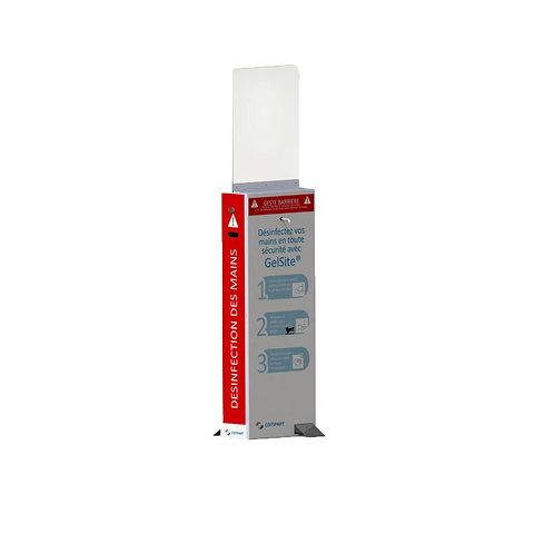 Distributeur hygiénique à pédale GelSite® Duo
